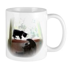 Cat and Angel 11 oz Ceramic Mug