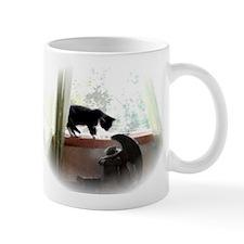 Cat and Angel 11 oz Ceramic Mug
