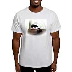 Cat and Angel Light T-Shirt