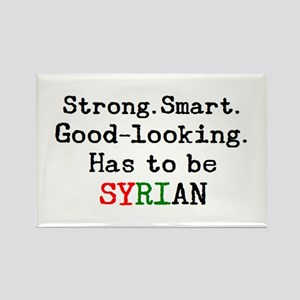 be syrian Rectangle Magnet