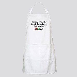 be syrian Apron