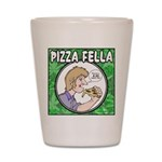 Pizza Fella Shot Glass