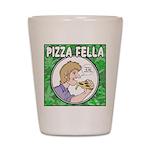 Pizza Fella Shot Glass