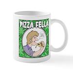 Pizza Fella Drinking Mugs