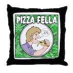 Pizza Fella Throw Pillow