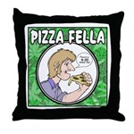 Pizza Fella Throw Pillow