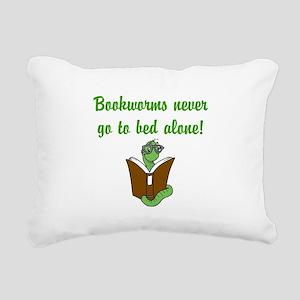 Bookworms Rectangular Canvas Pillow