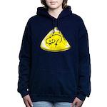 Wombat Man Crest Women's Hooded Sweatshirt