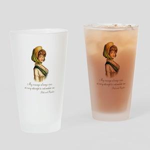Lizzy Says Drinking Glass