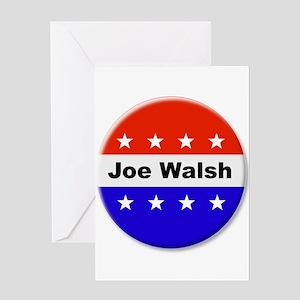 Vote Joe Walsh Greeting Cards