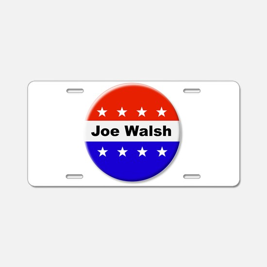 Vote Joe Walsh Aluminum License Plate