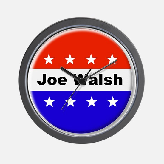 Vote Joe Walsh Wall Clock