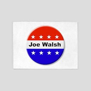 Vote Joe Walsh 5'x7'Area Rug