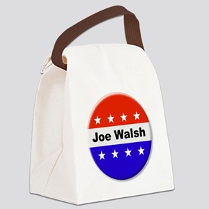 Vote Joe Walsh Canvas Lunch Bag