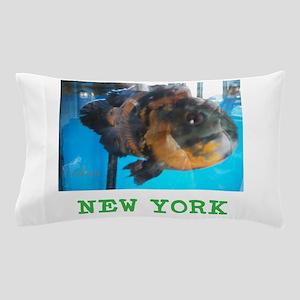 New York Avins Fish. Pillow Case