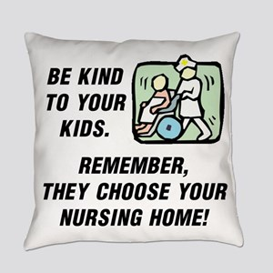 BE KIND TO YOUR KIDS.  REMEMBER TH Everyday Pillow
