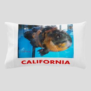 California Avins Fish. Pillow Case