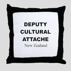 Deputy Cultural Attache: New Throw Pillow