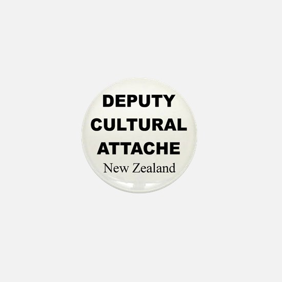 Deputy Cultural Attache: New Mini Button