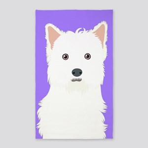 West Highland White Terrier Area Rug