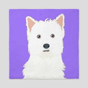 West Highland White Terrier Queen Duvet