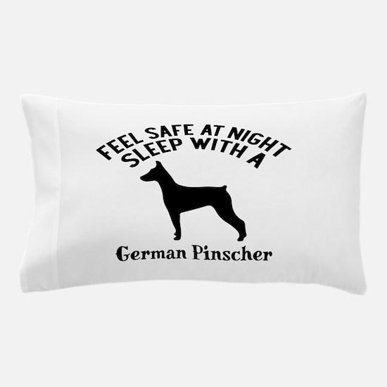 Sleep With German Pinscher Dog Designs Pillow Case