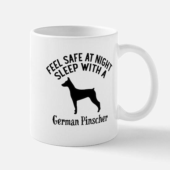 Sleep With German Pinscher Dog D Mug