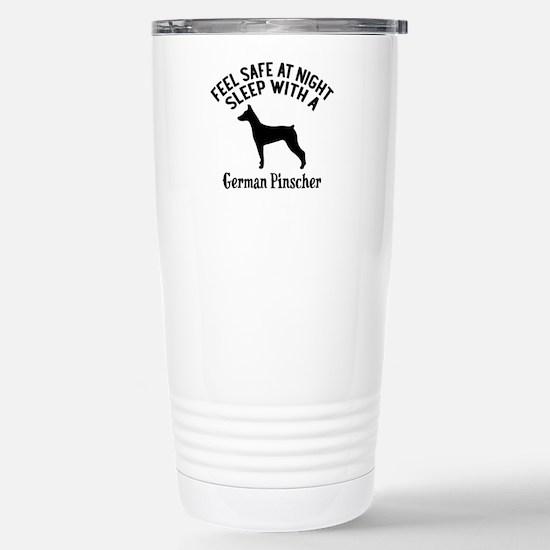 Sleep With German Travel Mug