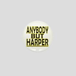 Anybody But Harper Mini Button