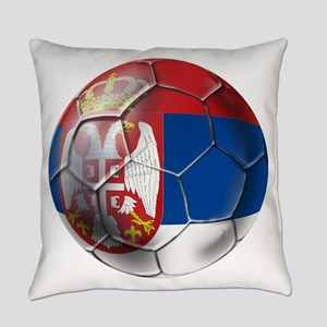 Serbian Football Everyday Pillow