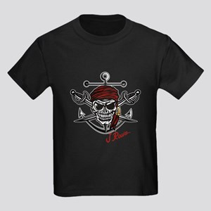 J Rowe Skull Crossed Swords T-Shirt
