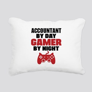 ACCOUNTANT BY DAY GAMER BY NIGHT Rectangular Canva