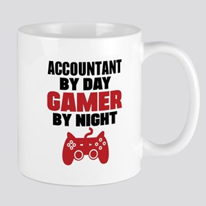 ACCOUNTANT BY DAY GAMER BY NIGHT Mugs