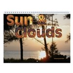 Sun And Clouds Wall Calendar
