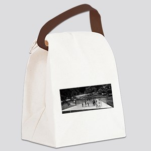 The Maze Canvas Lunch Bag