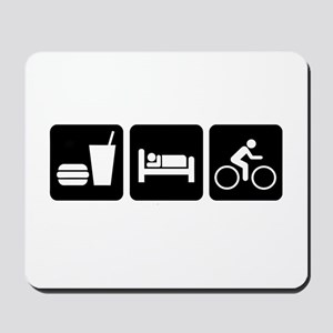 Eat, Sleep, Bike Mousepad