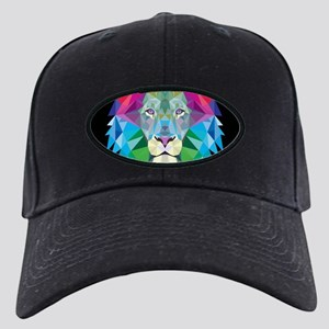Rainbow Lion Black Cap