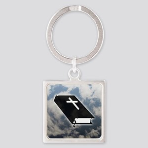 Bible Square Keychain