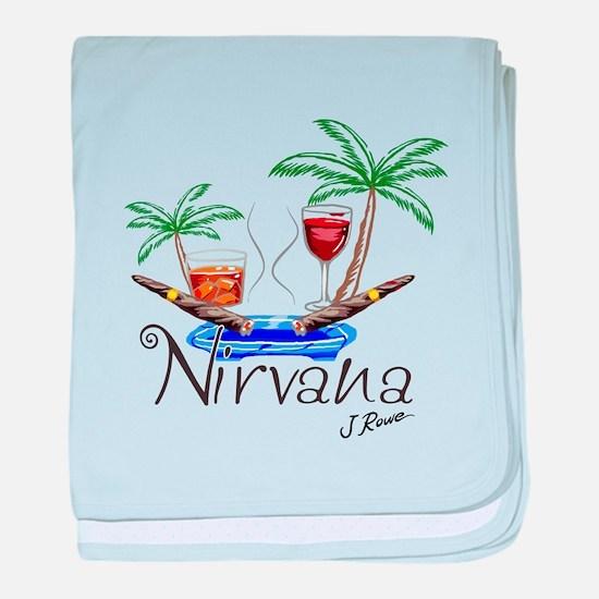 J Rowe Nirvana Cigars baby blanket