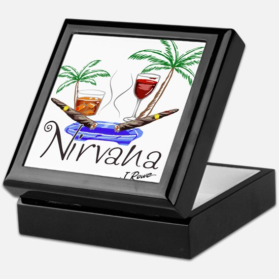 J Rowe Nirvana Cigars Keepsake Box