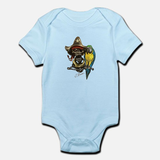J Rowe Pirate & Parrot Body Suit