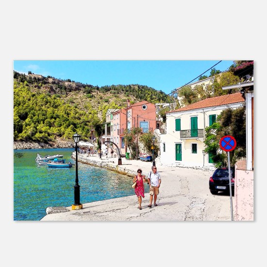 Village of Assos Postcards (Package of 8)
