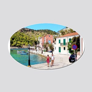 Village of Assos Wall Decal