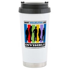 Most Disabilities Are I Stainless Steel Travel Mug