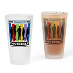 Most Disabilities Are Invisible Drinking Glass