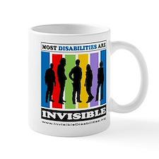 Most Disabilities Are Invisible Mug Mugs