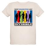 Most Disabilities Are Invisib Organic Kids T-Shirt