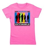 Most Disabilities Are Invisible Girl's Tee