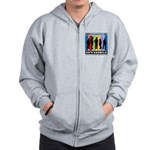 Most Disabilities Are Invisible Zip Hoodie