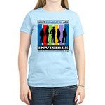 Most Disabilities Are Invisi Women's Light T-S
